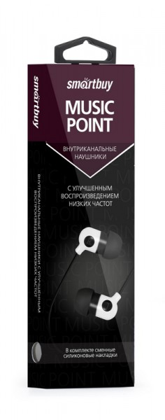 diskont-line.ru SmartBuy MUSIC POINT SBE-2400/2510 (наушники) 1.2м